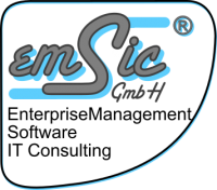 Logo des Unternehmens emSic GmbH Enterprise Management, Software, IT Consulting